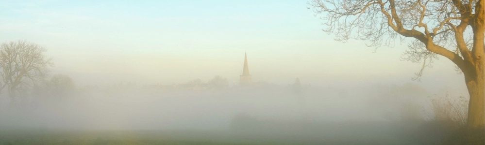 St Mary's in the mist