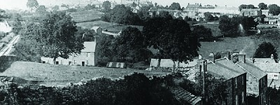View of Crich Centre from The Tors in 1930s