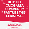 Help Fill Crich Area Community Pantries this Christmas