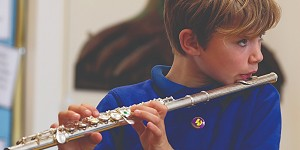 A Fritchley school flautist