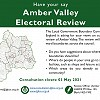 Consultation on ward boundaries for Amber Valley Borough Council