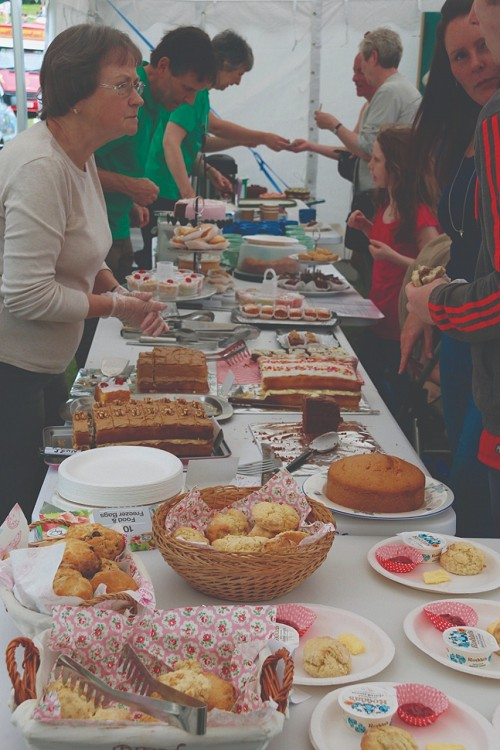cakes at the fete